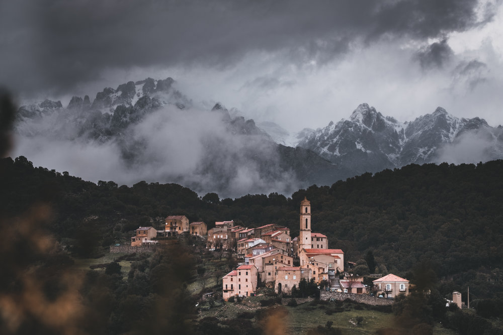 Wilde Bergdörfer | Korsika, Frankreich