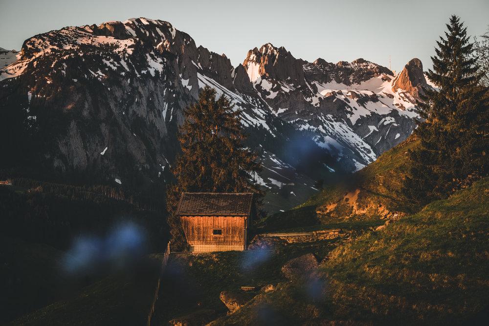 Nördliche Alpstein Kette | Appenzell, Schweiz