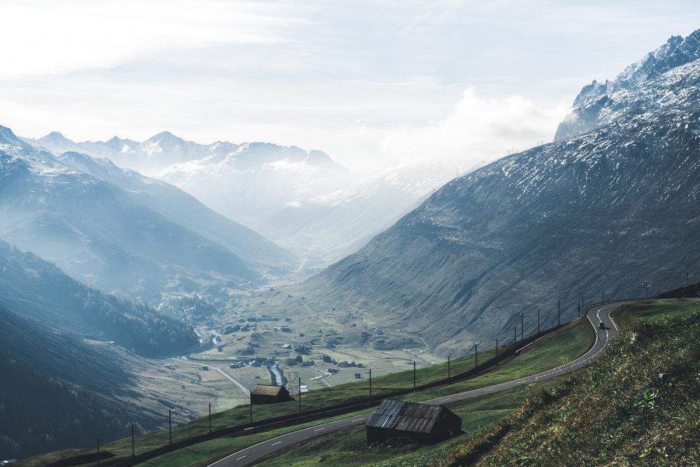 Oberalppass |Uri, Schweiz