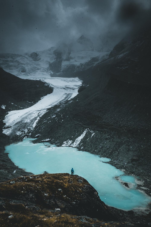 Moiry Gletscher |Wallis, Schweiz