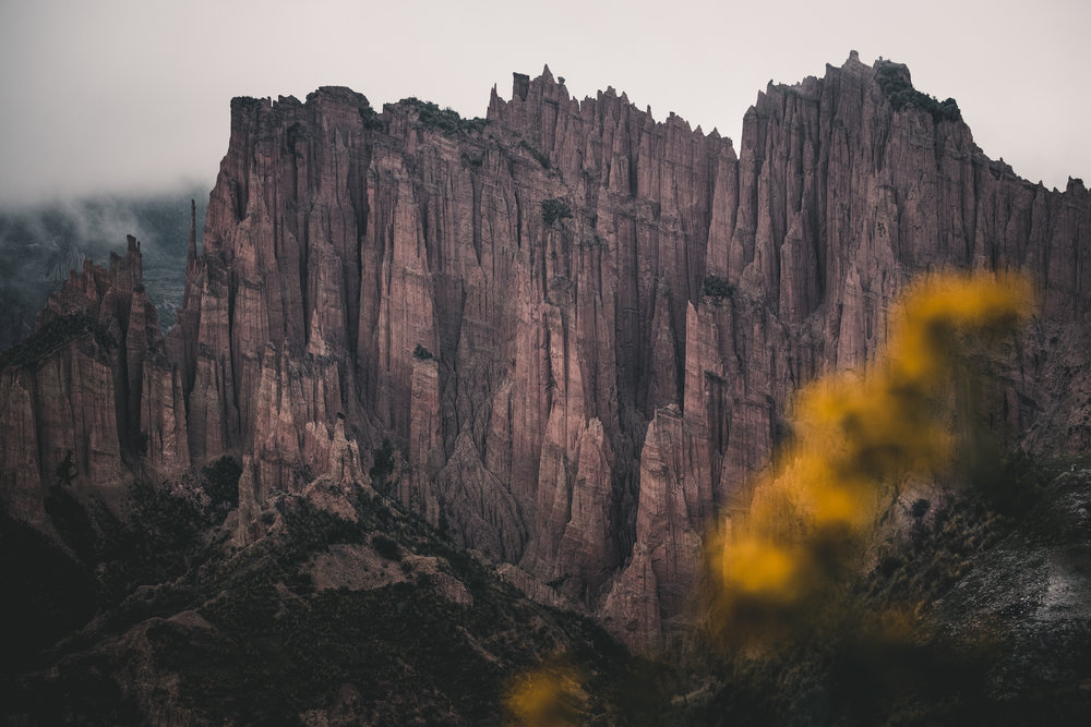 Unnamed earth towers | La Paz