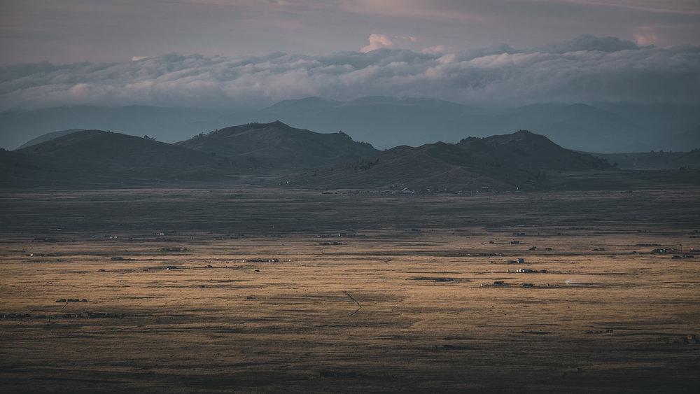 Bolivian higlands at 4.000 m | La Paz
