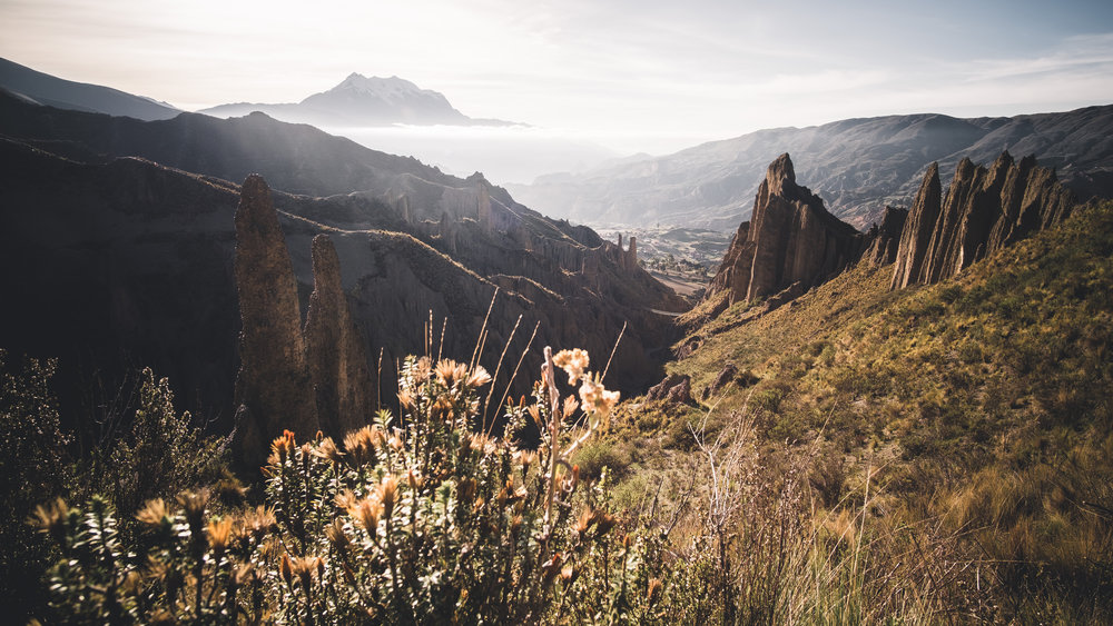 Morning mood at valle de las animas | La Paz