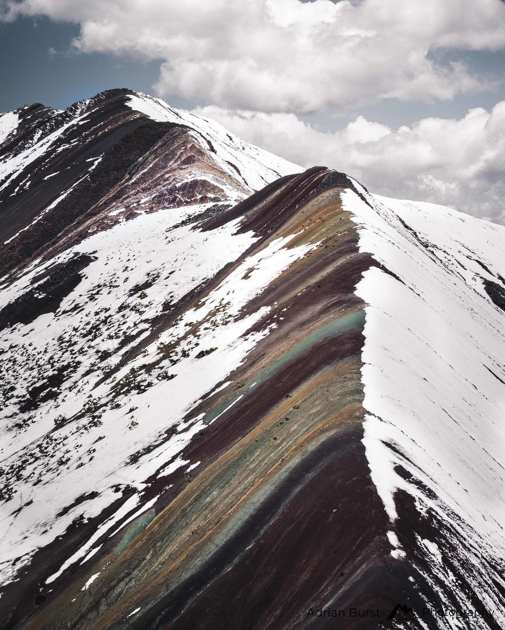 "18 | Vinicunca mountain ""Rainbow mountains"""