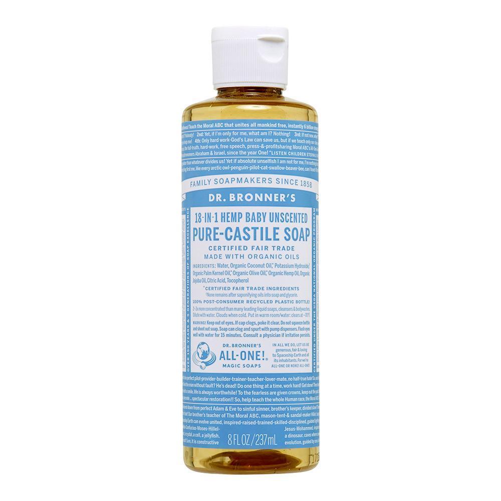 Dr Bonner's Pure-Castile Liquid Soap
