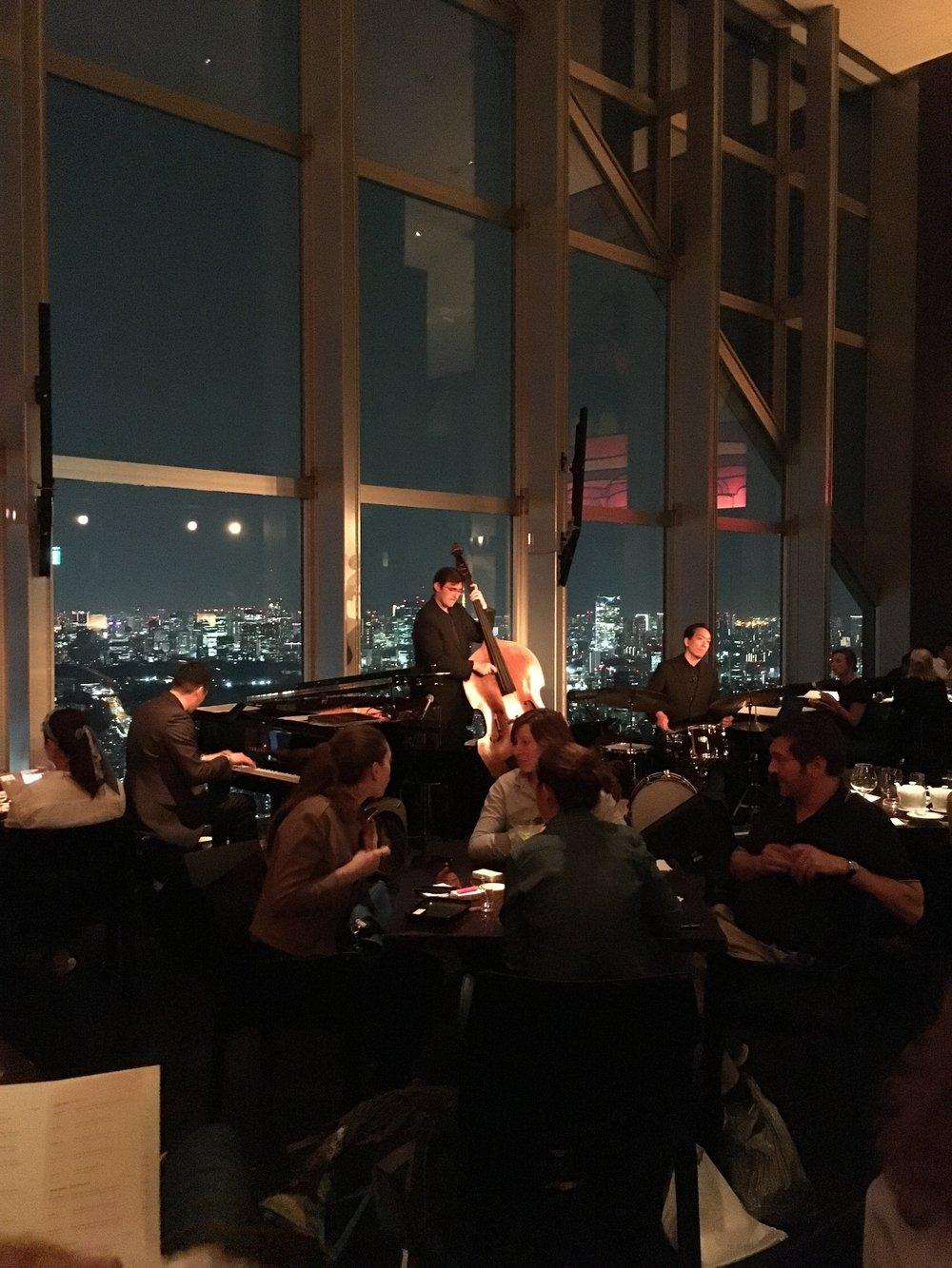 New York Bar, at the Park Hyatt Tokyo
