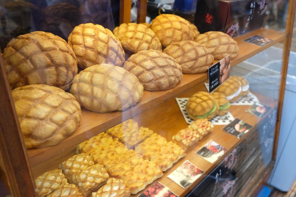 Tokyo_Melon Bread.JPG