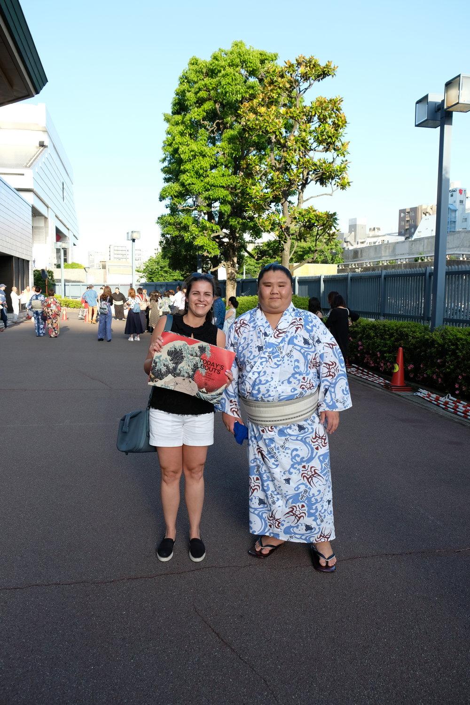 sumo match japan