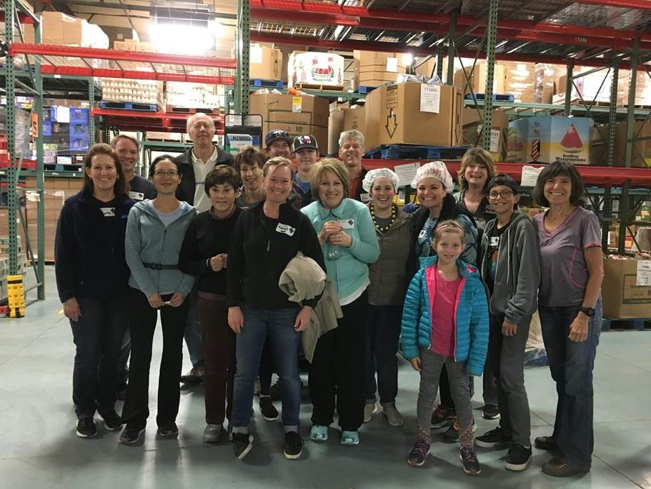 HBC Volunteer Day Fall 2017 at  Community Food Share