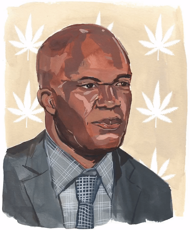 Marvin Washington - Marvin Washington, cannabis advocate, former NFL player and Super Bowl champ, changes the conversation for little league parents, athletes, and the African-American community as a defender of and pioneer in the medicinal cannabis space.