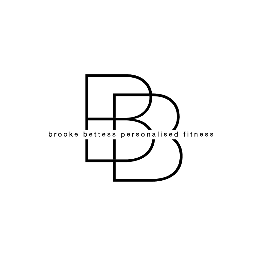 Brooke Bettess Personalised Fitness Logo Design