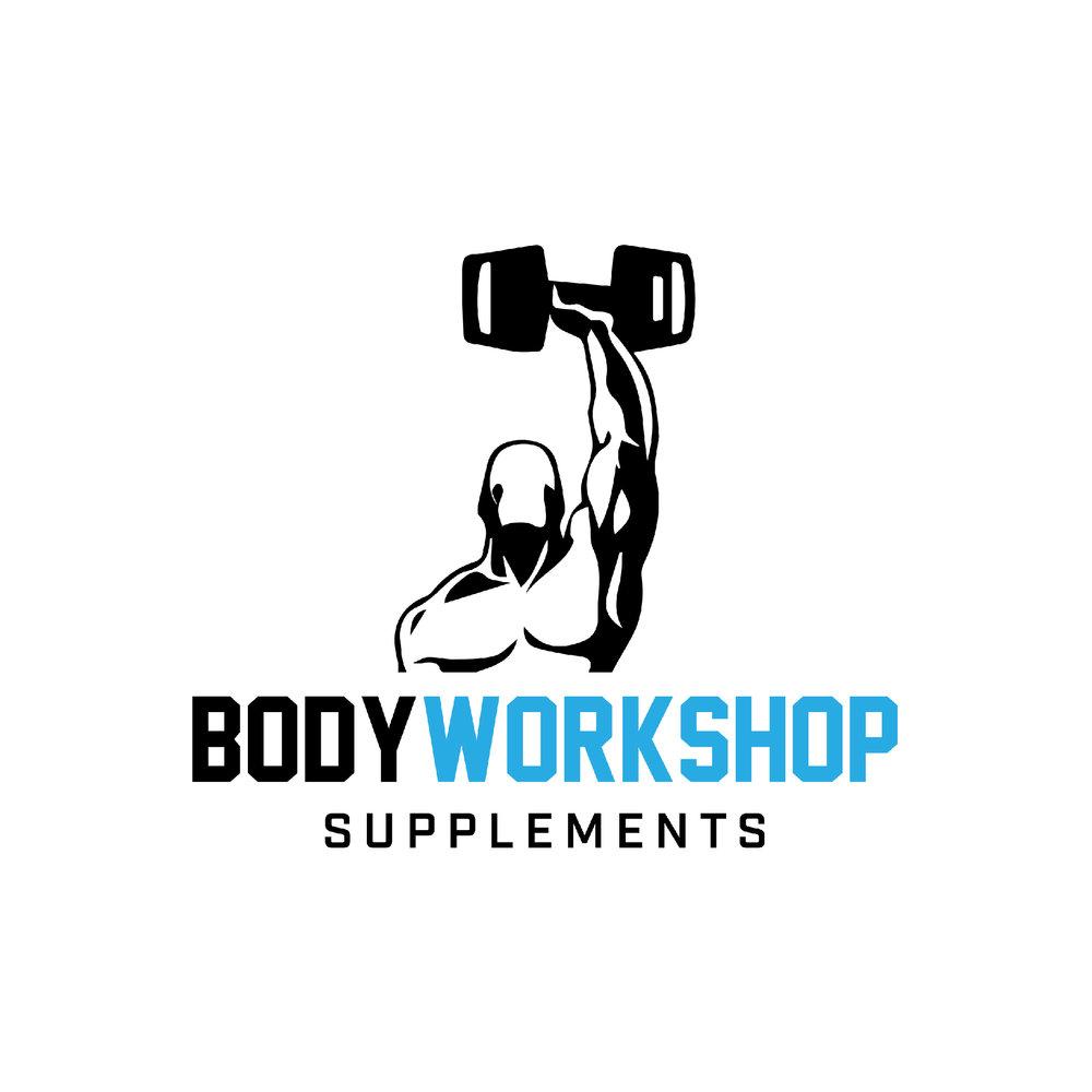 Body Workshop Supplements Opening Week Logo Design