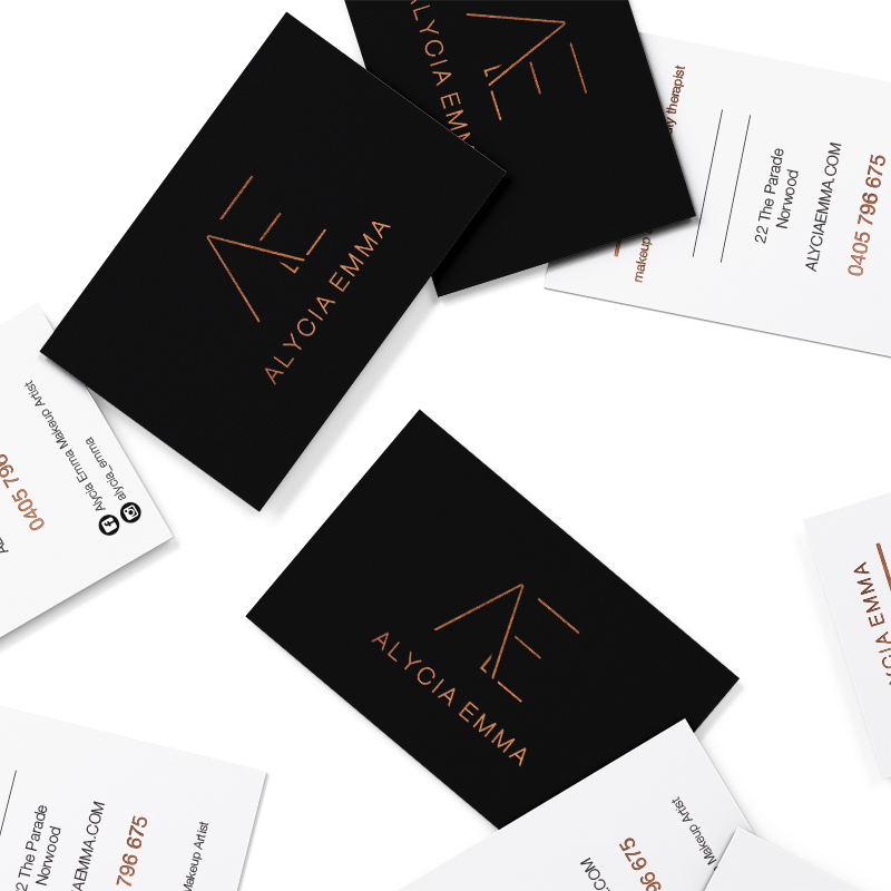 Alycia Emma Business Cards