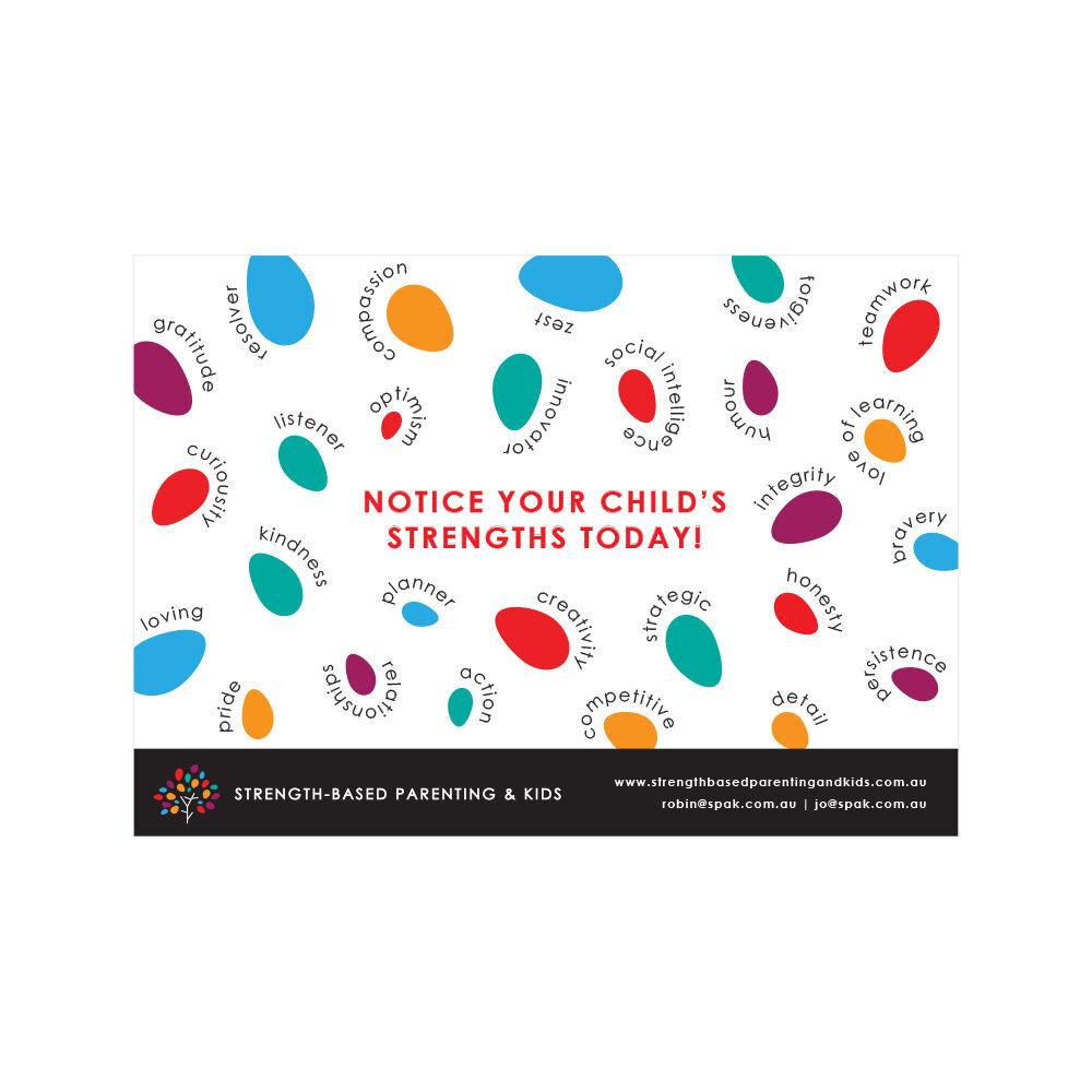 Strength-based Parenting & Kids Fridge Magnets