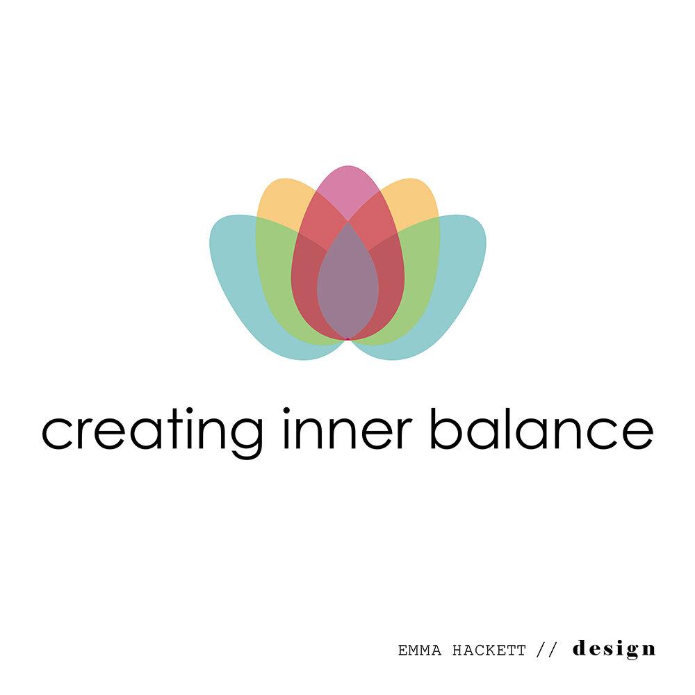 Creating Inner Balance Logo Redesign