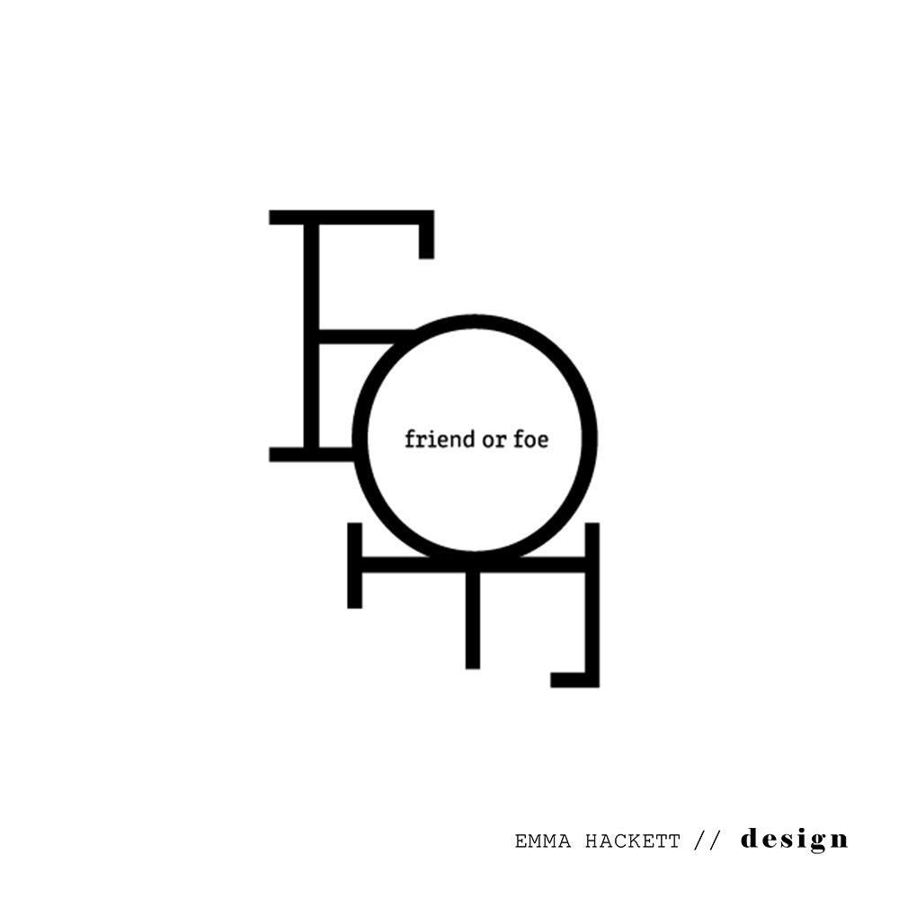 Friend or Foe Logo Design