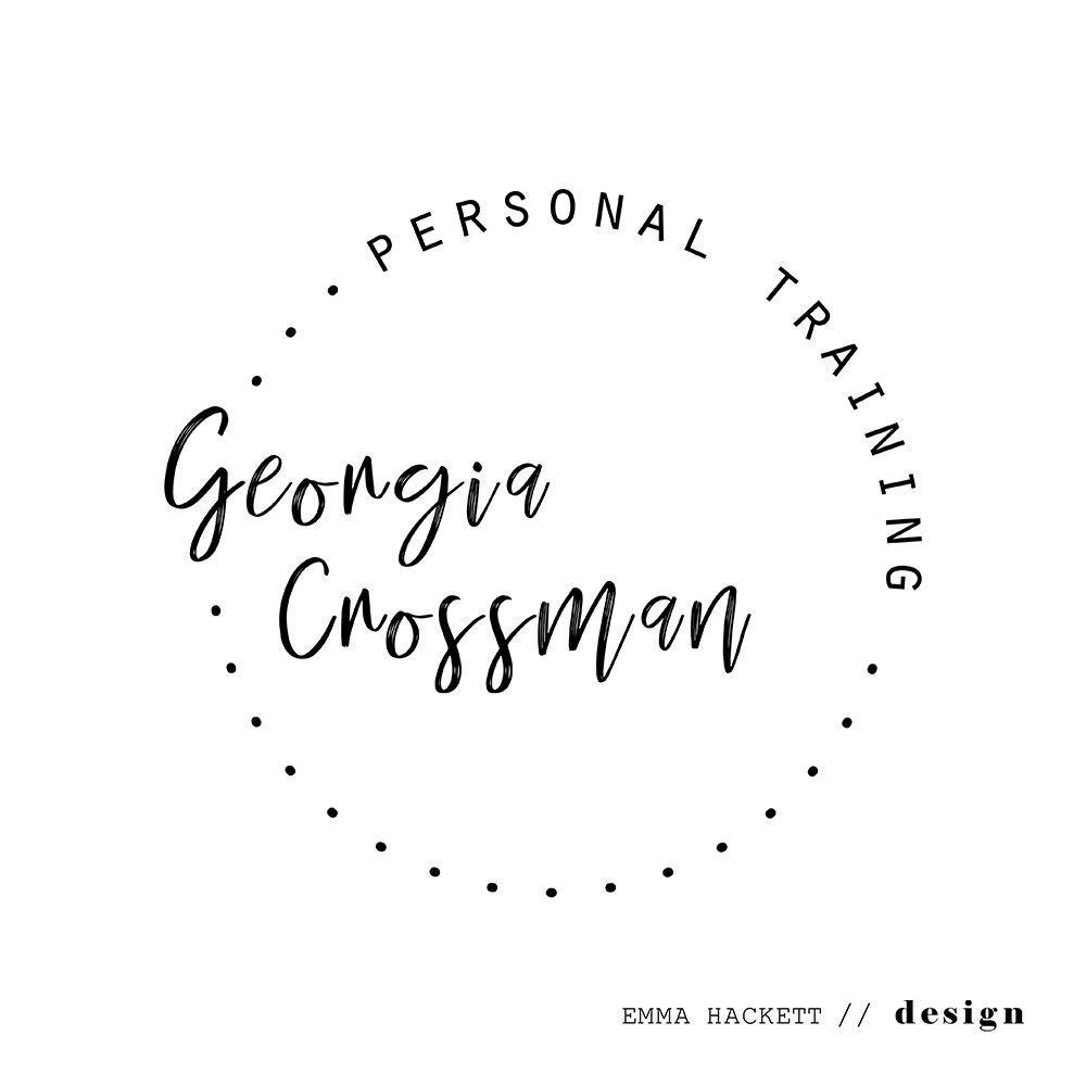 Georgia Crossman Personal Training Logo Design