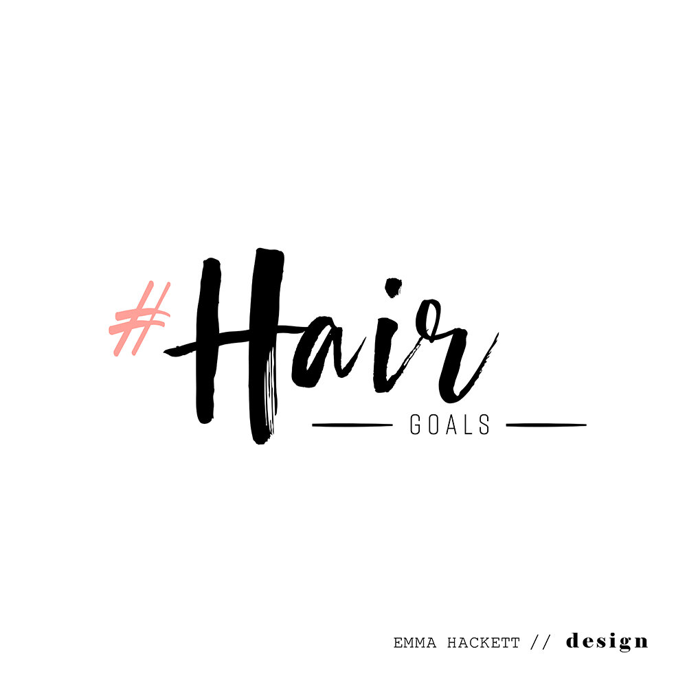 Hair Goals Logo Design