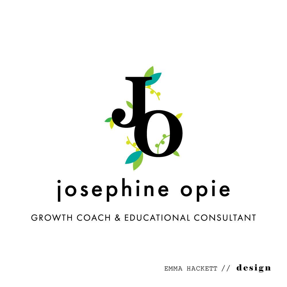 Josephine Opie Logo Design