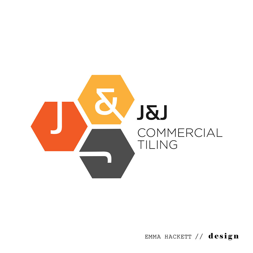 J&J Commercial Tiling Logo Design