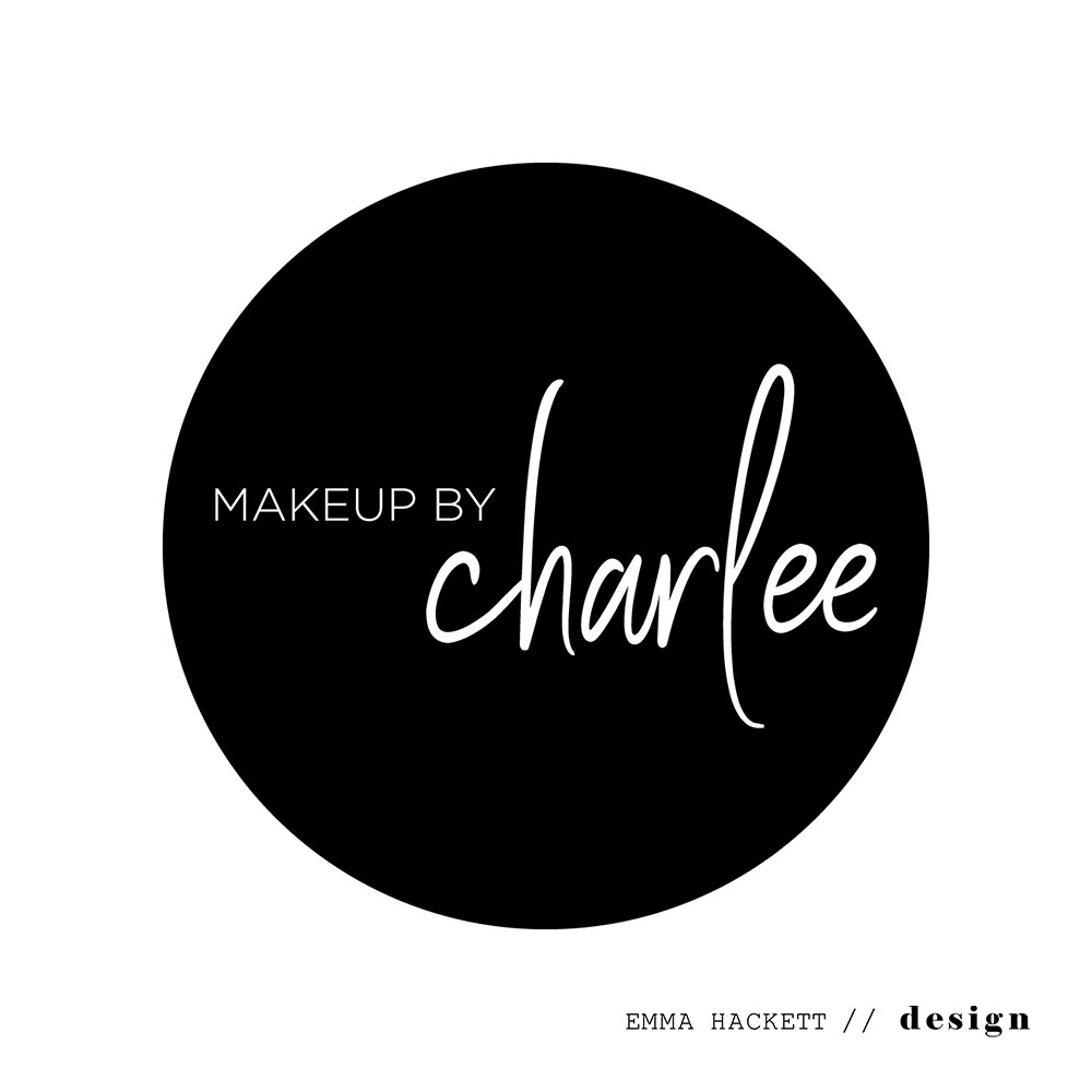 Makeup by Charlee Logo Design