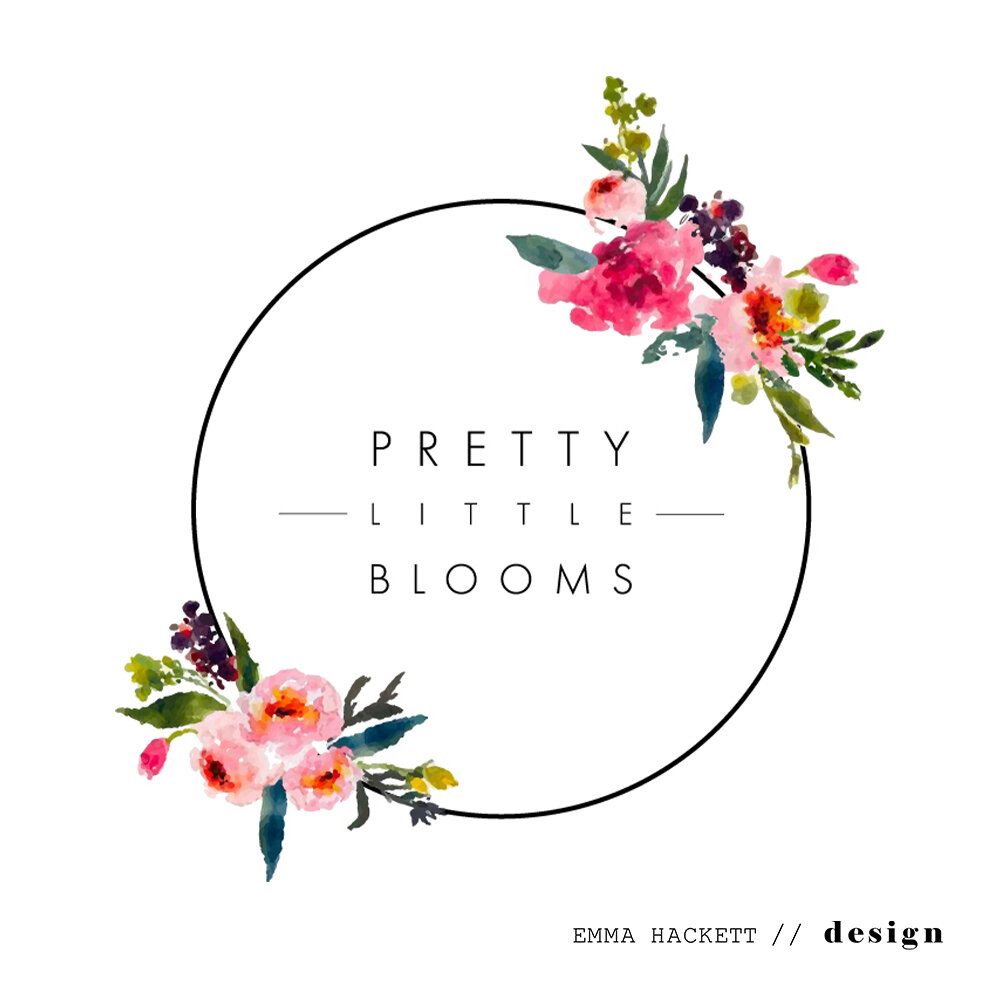 Pretty Little Blooms Logo Design