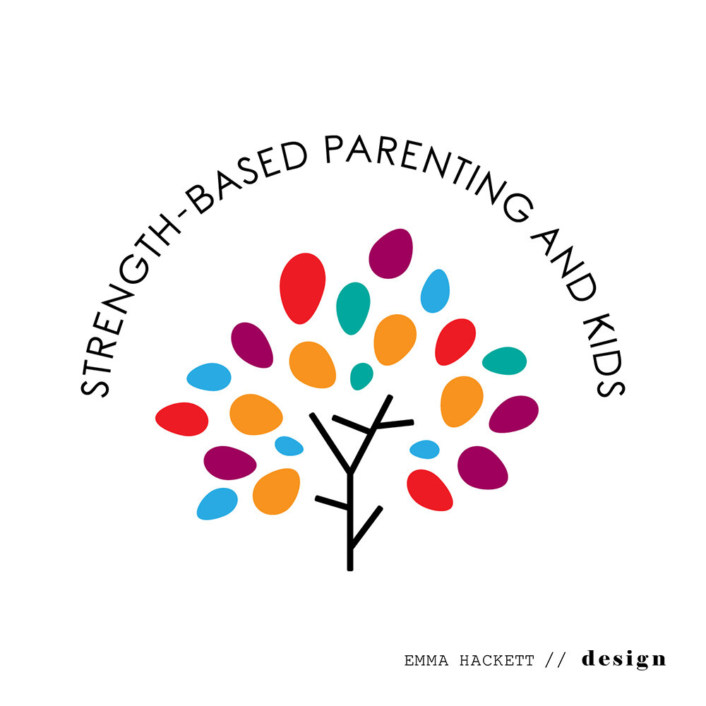 Strength-based Parenting & Kids Logo Design