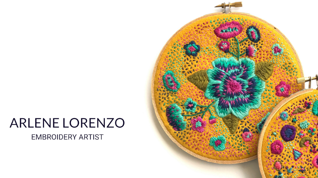 ARLENE LORENZO EMBROIDERY ART