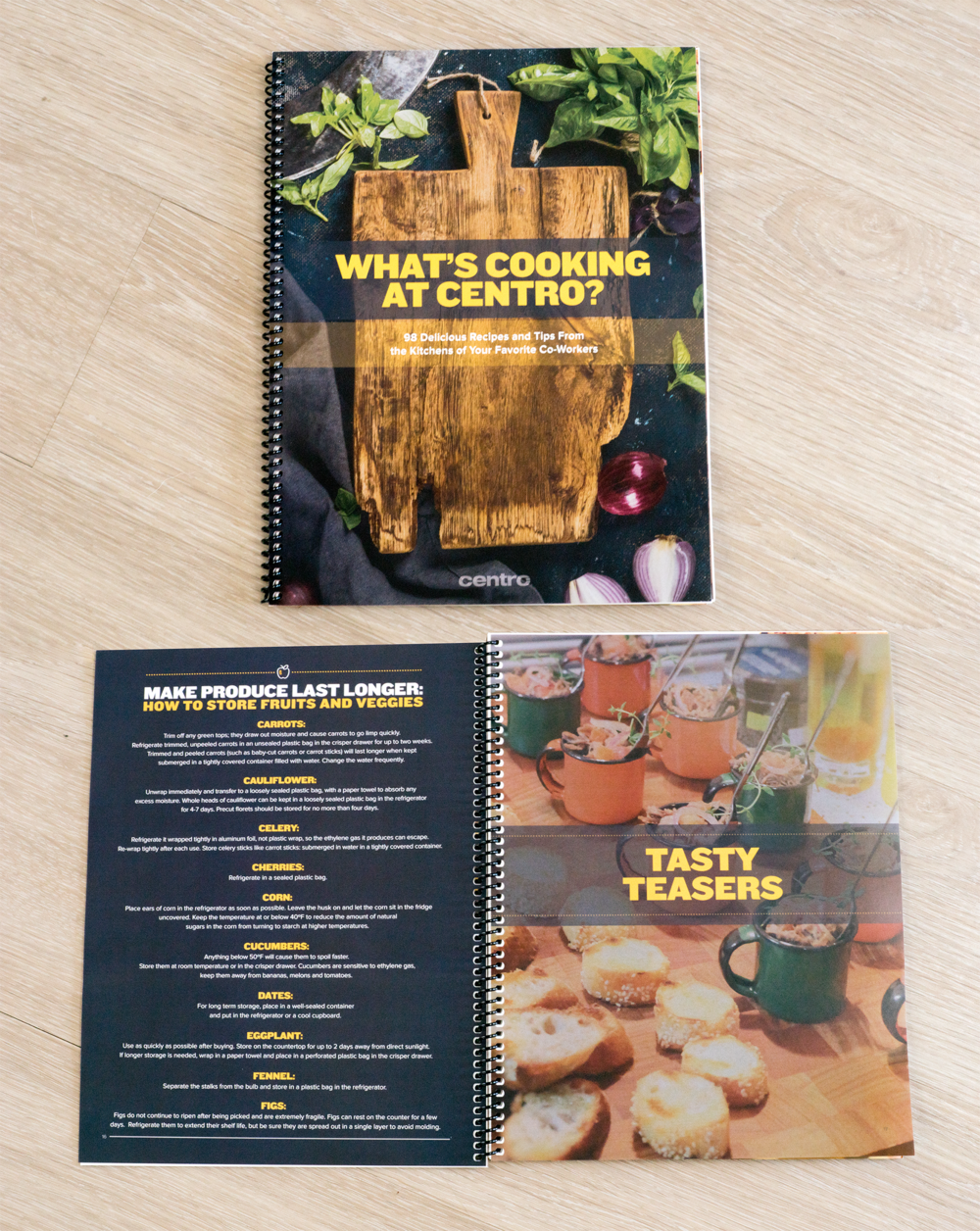 Centro Employee Cook Book