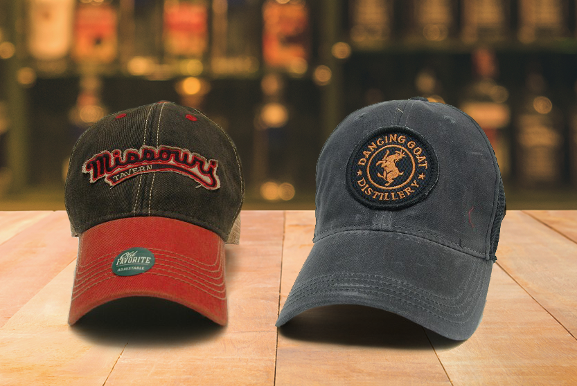Travis Hasse Distillery Caps