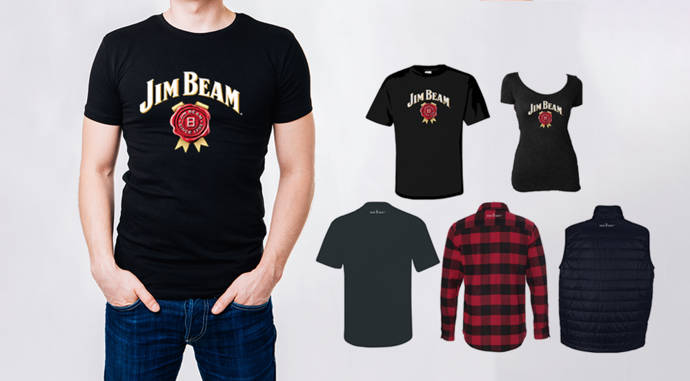 Jim Beam Apparel