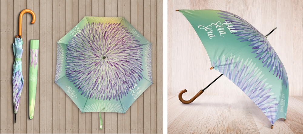 Merrick Park Custom Umbrella
