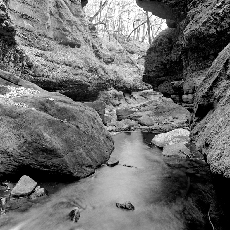 Leaving Parfrey's Glen (WI) April 2012