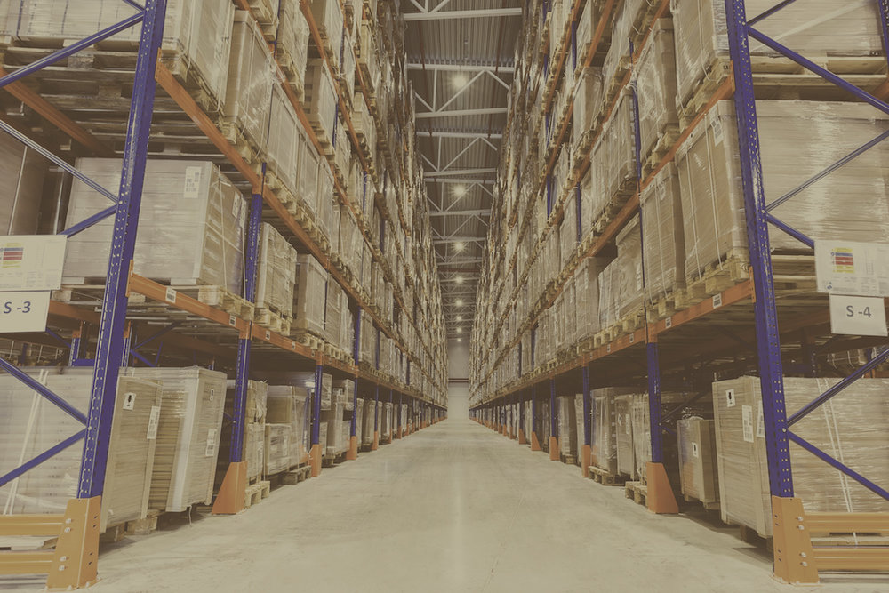 Warehouses - Advanced warehouse management technologyPowered by green energy (solar panels)