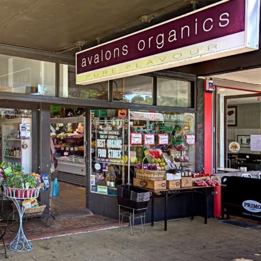 Avalons Organics   25 Avalon Parade, Avalon Beach NSW 2107.