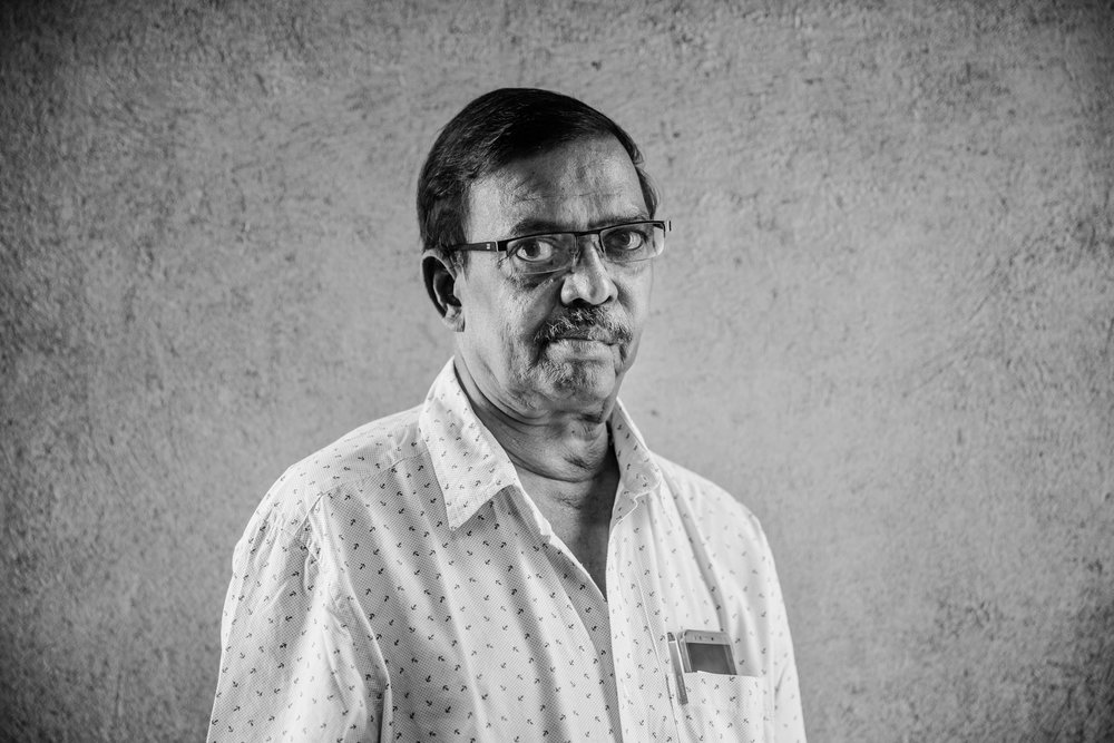 Kumar Mohan  Production Manager  Working for re-wrap is a chance to use his extensive global production experience in a business that is a force for good.
