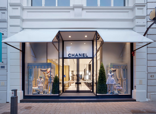 Chanel unveiled their sixth Australian store, in Perth, in time for Christmas 2012. Source: Instyle Magazine