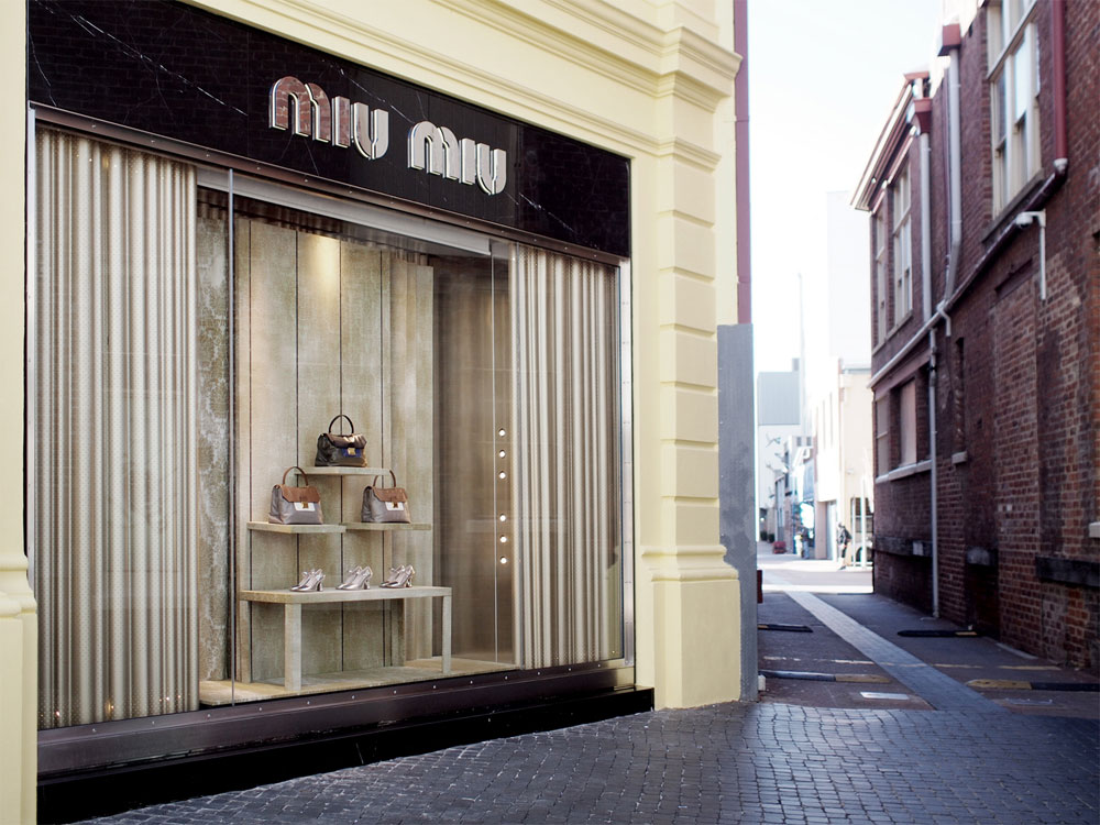 Miu Miu opens at 44 King Street Perth. Photo: Michelle Lau