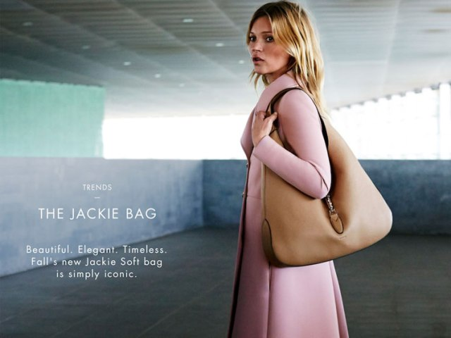 Kate headlines Gucci's new campaign for their iconic Jackie Soft bag. Source: www.stylist.mk