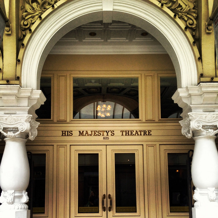 His Majesty's Theatre, Perth. Source: Truelocal