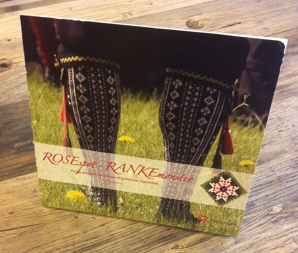 Historikk og oppskrift står i heftet   ROSEspøt – RANKEmønster.