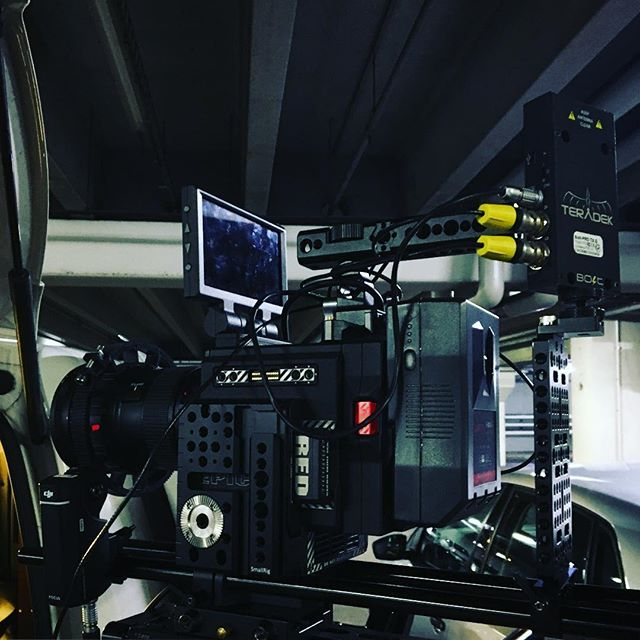 Working on a saturday is never hard work! #redepicweapon #helium8k  #steadicam