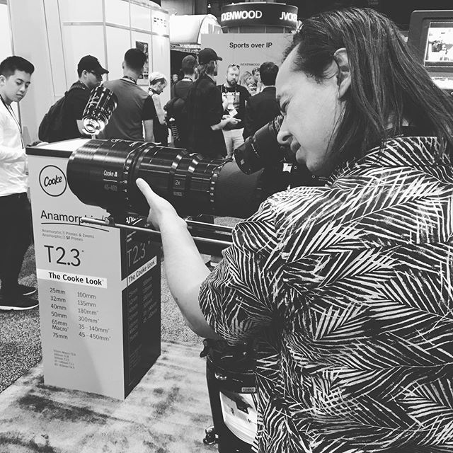 In Las Vegas for NAB 2017 👌