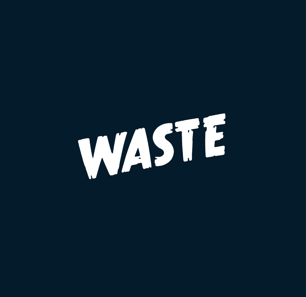 Title design for the short movie  Waste .