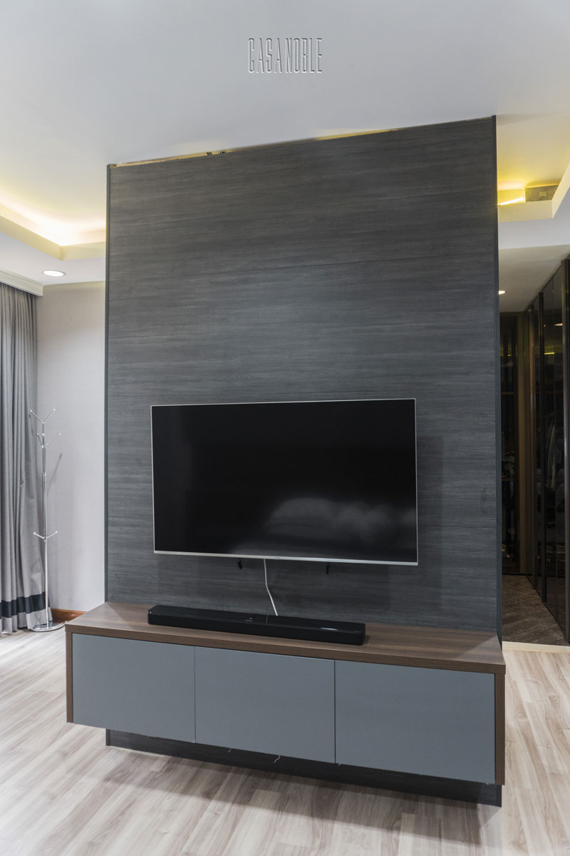 Custom Backdrop TV