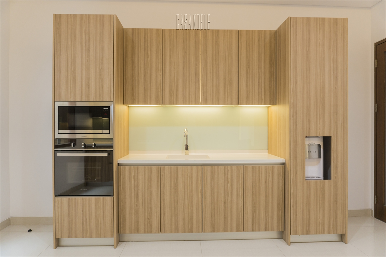 Kitchen set hpl minimalist bu ira