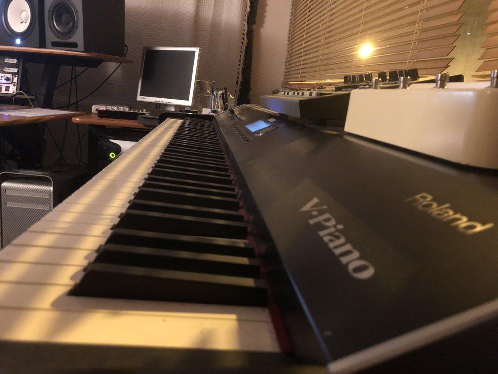 Studio 2 - Photography. Westland Studio Recording. Music.