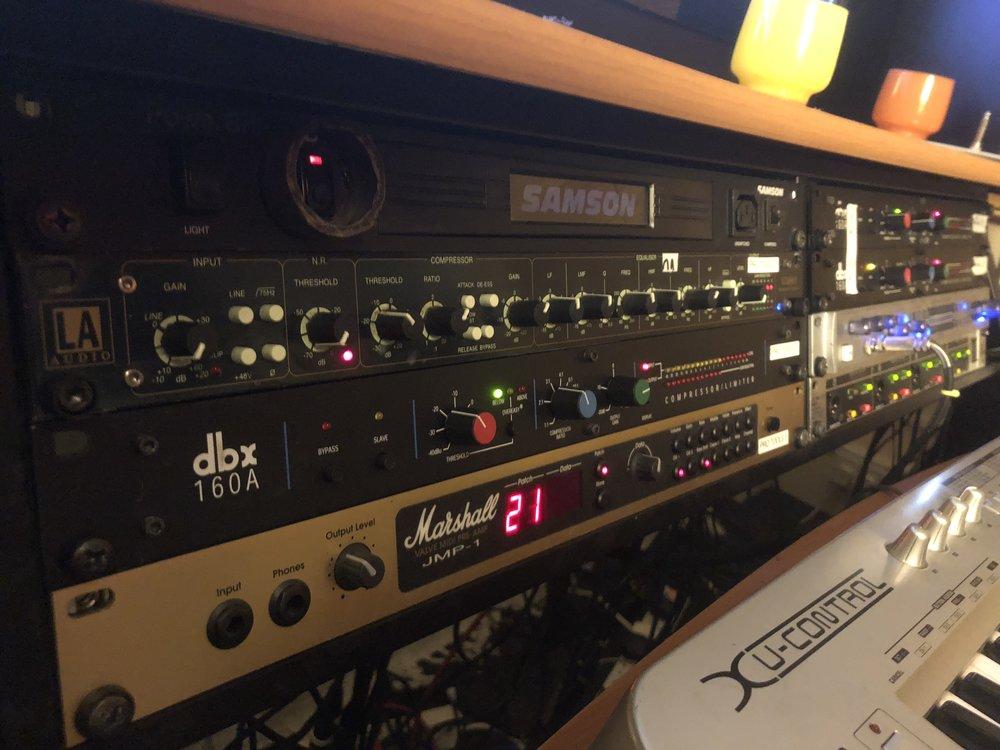 Studio 2 - Photography. Westland Studio Recording. Music