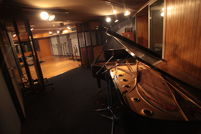 Studio 1 - Photography. Westland Studios. Grand Piano. Music. Dublin, Ireland
