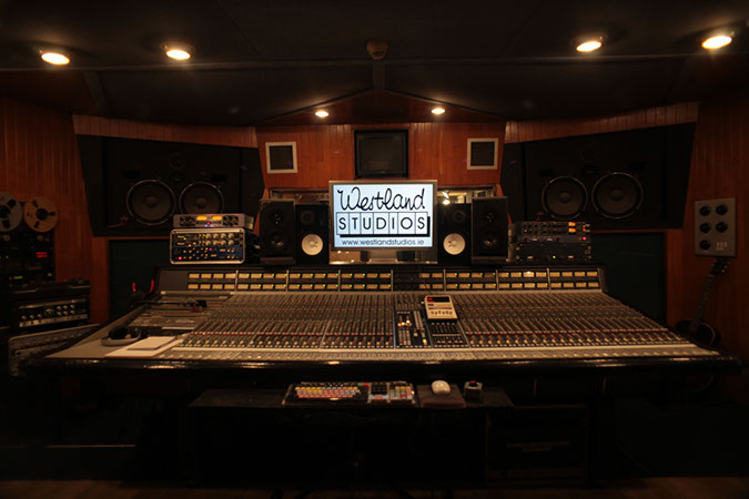 Studio 1 - Photography. Westland Studios. Control Room. Music. Dublin, Ireland